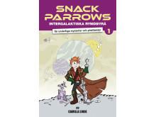 Snack Parrows intergalaktiska rymdbyrå för underliga mysterier och piratbestyr.