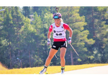 NM rulleskiskyting 2015 Jaktstart Tiril Kampenhaug Eckhoff