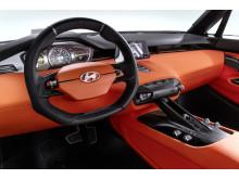 Interiør i konseptbilen Intrado fra Hyundai