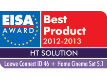 Loewe vinder EISA Award for Best Home Theater Solution 2012-13