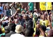 MANDELA - vägen till frihet, pressbild blu-ray/dvd