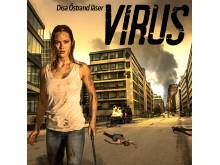 Omslag: Virus säsong 1 av Daniel Åberg