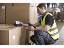 Brother RJ 4000 mobil skriver brukt i varehus