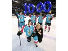 Ice hockey heroes celebrate giant achievement