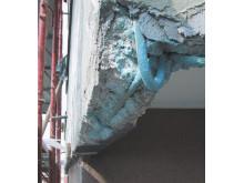 Reparasjon av betongskade 02