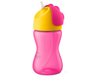 Philips Avent Straw Cup rosa 300 ml