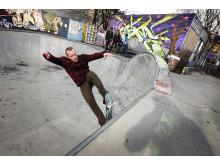 Skatebowl og aktivitetspark i Gamlebyen