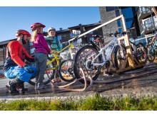 Sykkelhotellet øker også