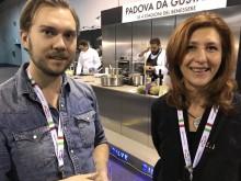 Gustav Johansson och Alessandra Giancomini