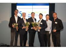 Deloitte Sweden Technology Fast 50 2015 - topp 5