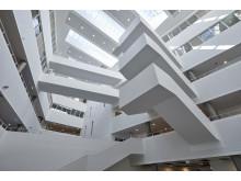 Center for Sundhed, atriumloft