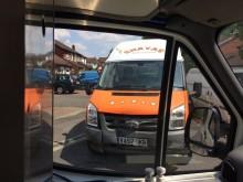 Qelik Shiha at the scene in his ice cream van