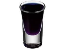 Molinari Black i shotglas