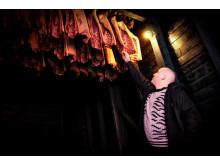 """Das Fleisch für sein Gourmetrestaurant """"Lysverket"""" in Bergen bezieht der Koch Christopher Haatuft von einem kleinen Schweinebauern in Voss"""