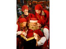 Santas magic book