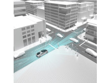 Daimler och Bosch visa hur ny teknik kan lösa storstädernas utmaningar.