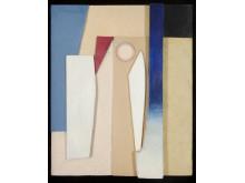 Kurt Schwitters - Pariser Frühling, 1936, assemblage.