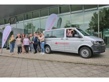 Santander_Übergabe Bus Landesjugendensembles NRW