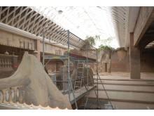 Im Elefantentempel im Zoo Leipzig wird das Badebecken umgebaut