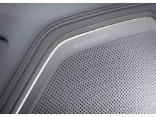 Audi A8 L - close up af Bang Olufsen højtaler