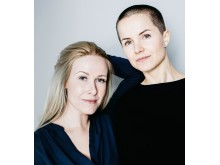 F.v. Rebekka Egeland og Carina Poulsen.