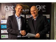 Get blir hovedsponsor for norsk hockey