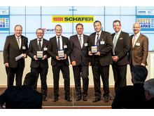 Palkinto ojennettiin SSI Schäferille 20. huhtikuuta Berliinissä saksalaisen mediakonserni Bertelsmannin toimistolla