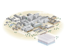 Teknisk illustration marklager energi Nus