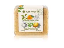 Mandarin Lemon Cedar Energizing Exfoliating Soap