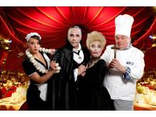 GANS GANZ ANDERS - extravagante Dinnershow des Krystallpalast Varieté Leipzig