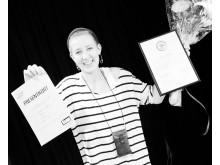 Årets Vikarie 2012 Johlene Lindholm VRE Edcuation