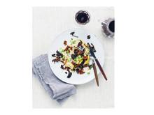 Risotto med kronärtskocka, edamamebönor, brynt svamp och soltorkade tomater