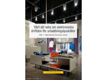"""Faktabladet """"Värt att veta om elektroniska driftdon för urladdningsljuskällor"""""""
