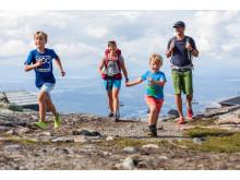 Stor ökning av familjer och vandrare till Holiday Club Åre