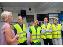 Besök på Berendsens anläggning i Limhamn