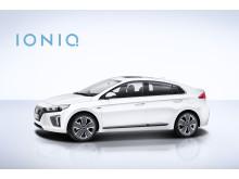 Hyundai IONIQ fra siden