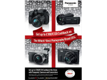 Panasonic Announces Christmas Cashback Promotion for Imaging Products