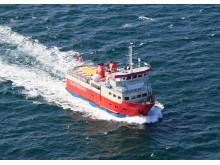 Færgepriserne til Tunø er sat ned med 50 pct. i flere perioder.