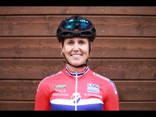 Ingrid Moe på sykkellandslaget 2017
