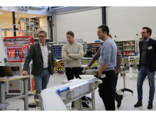 FlexLink's customer days in Gothenburg created in-depth discussions on factory automation. The hygienic offering is a good example of automation with high standards of hygiene, driving down factory cost of ownership.