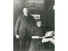 Edvard och Gerda Lindell © Cleas-Göran Wetterholms arkiv