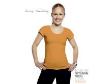 Jenny Sunding, 25 år, frilansjournalist med specialkunskaper inom träning och hälsa.