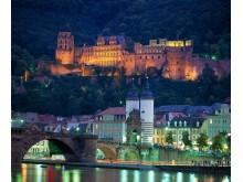 Heidelberg ved Neckarbredden