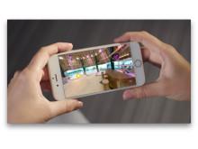 Viareal - sjekk inn på Paradise Hotel på mobilen
