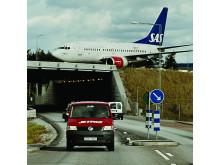 Jetpakbil og flyver