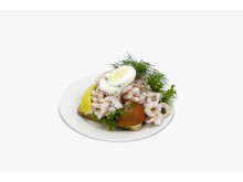Shrimp Sandwich an Bord von Tallink Silja