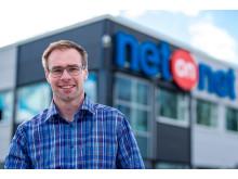 Stefan Svensson, Logistikchef NetOnNet