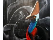 Graffitiworkshop 10-11 augusti på Ungdomens hus i Partille.