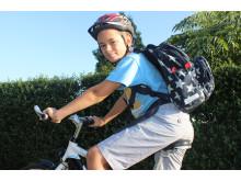 Kun godt en tredjedel af børnene cykler til skole