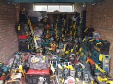 Tools recovered as part of Thames Valley Police Operation Appleton